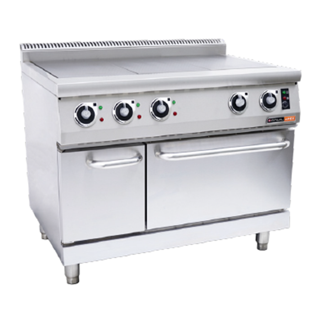 ELECTRIC SOLID TOP STOVE – With electric oven