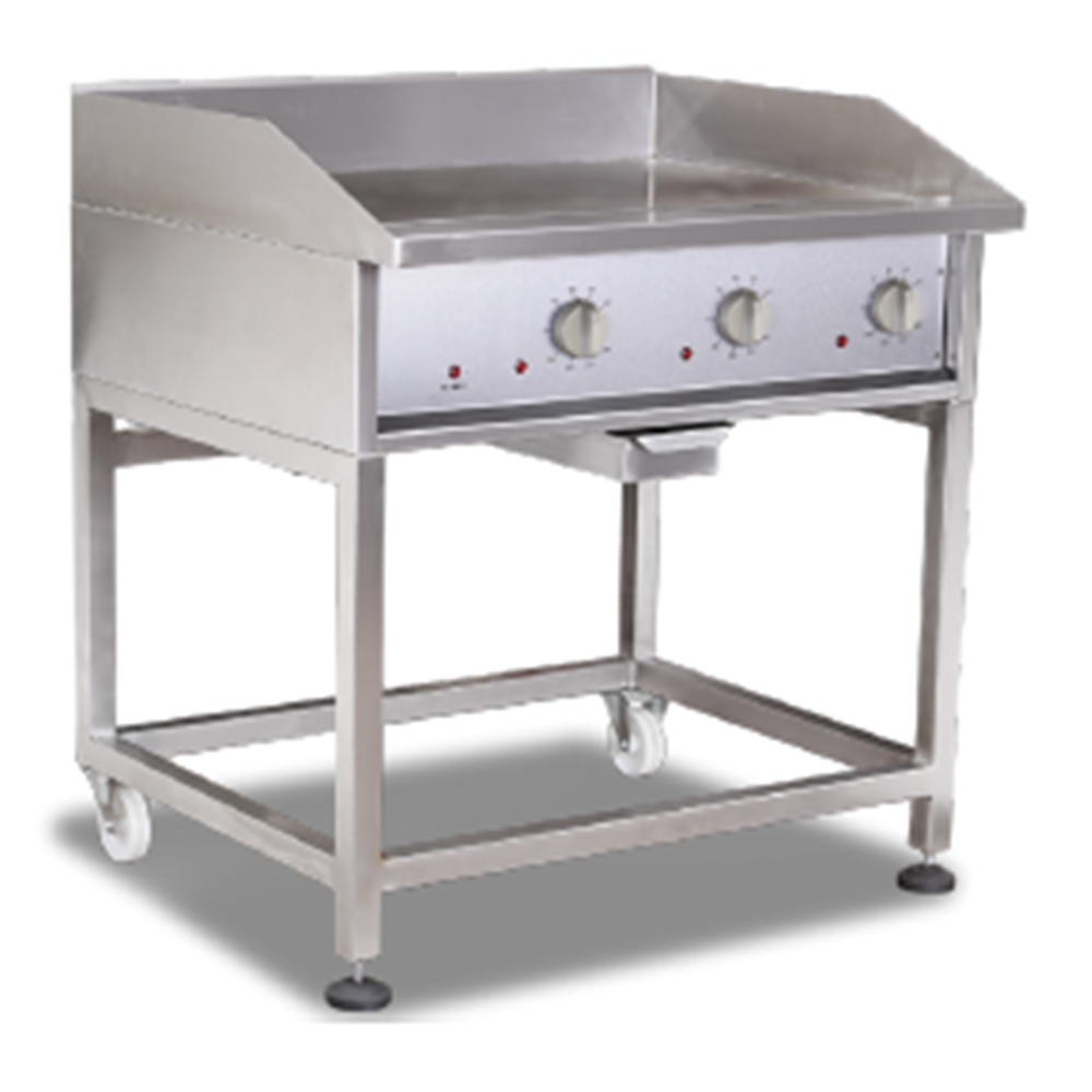 GRILLERS – Heavy duty – Solid Top – Electric – 900mm