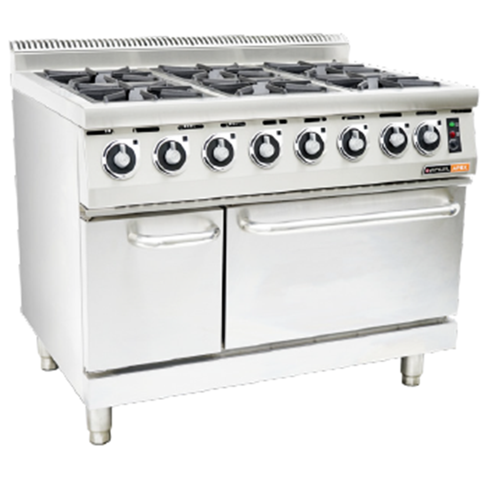 GAS STOVES – With electric oven