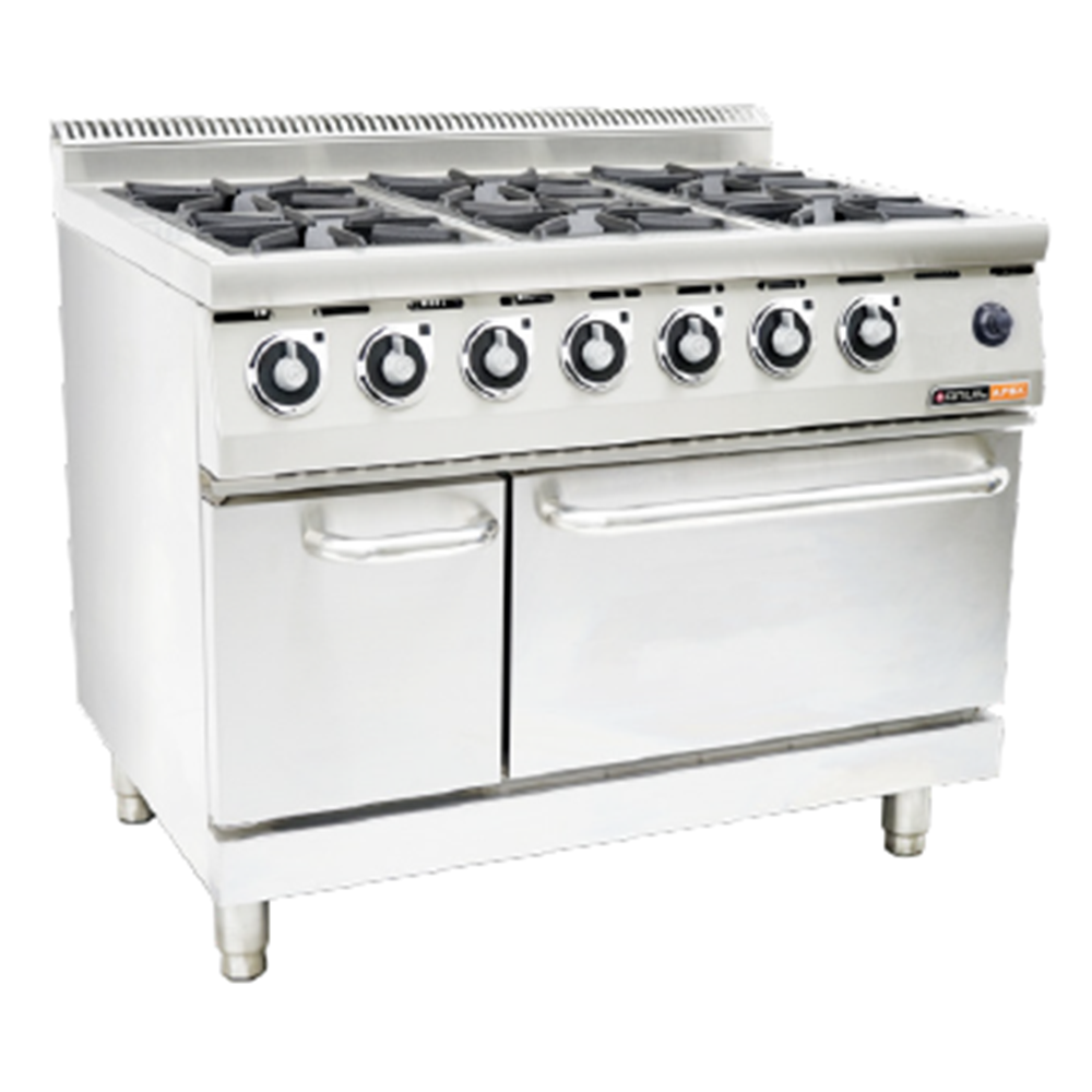 GAS STOVES – With gas oven