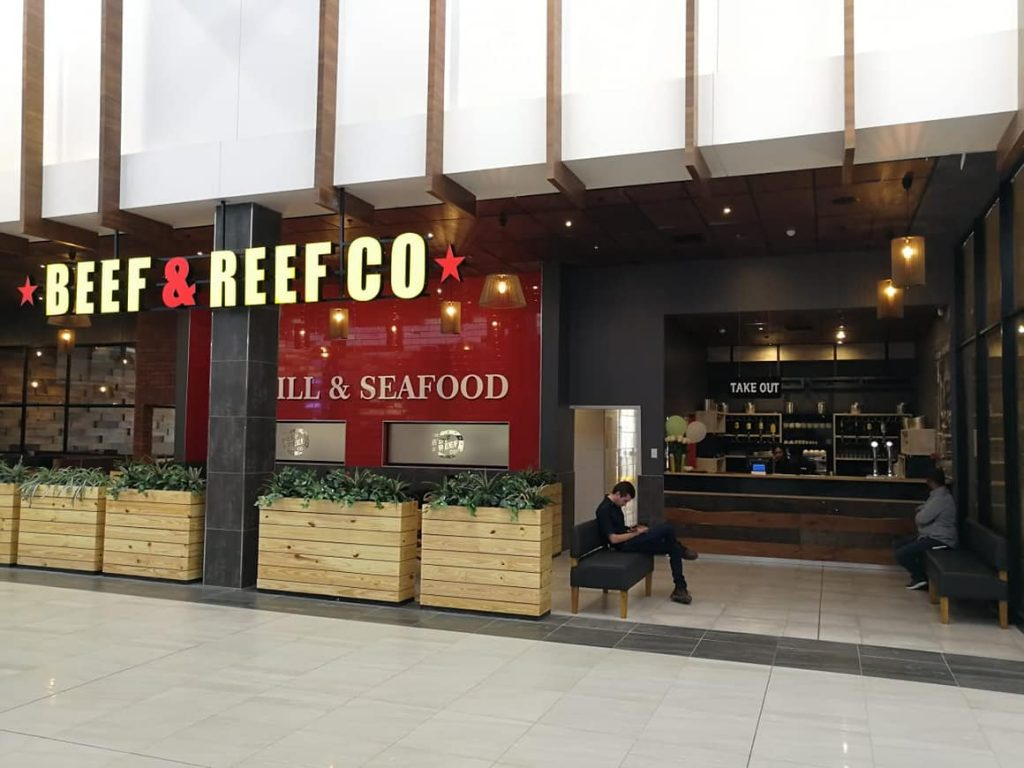 Beef & Reef Co, North Ridge Mall, Bloemfontein
